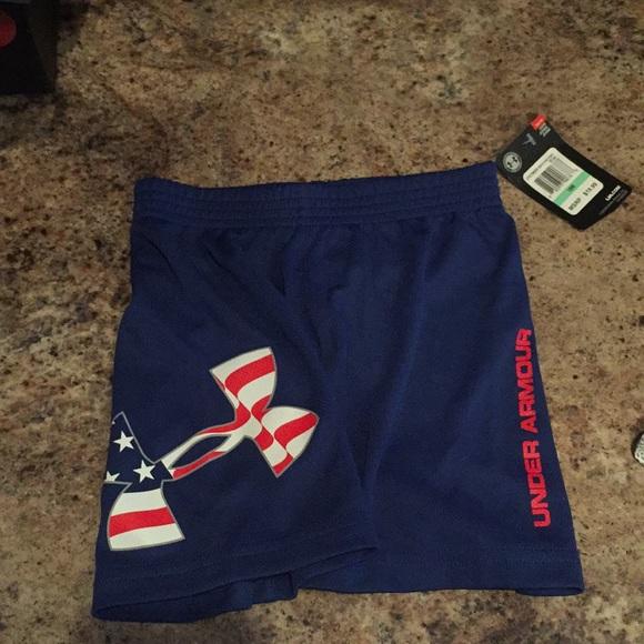 9b706a2faa Boys 18 Month Under Armour Shorts NWT